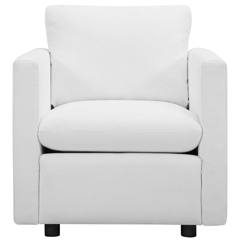 Activate Upholstered Fabric Armchair