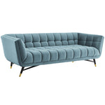 Adept Performance Velvet Sofa