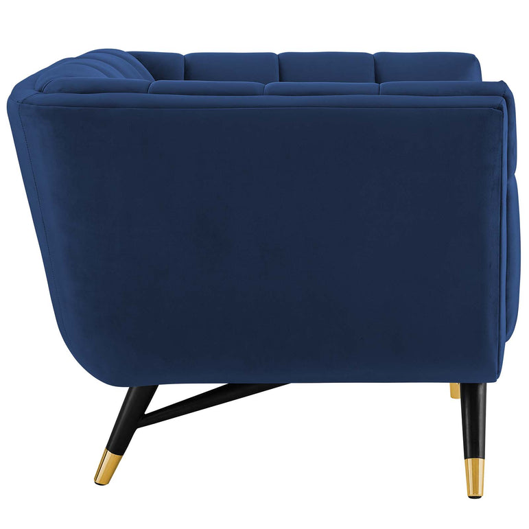 Adept Performance Velvet Armchair
