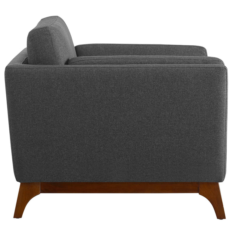 Chance Upholstered Fabric Armchair