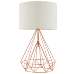 Precious Rose Gold Table Lamp