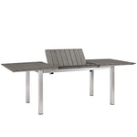 Shore 7 Piece Outdoor Patio Aluminum Outdoor Dining Set