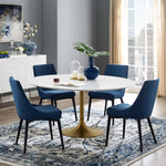 "Lippa 60"" Round Wood Dining Table"