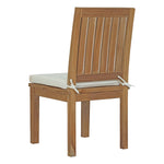 Marina 5 Piece Outdoor Patio Teak Outdoor Dining Set