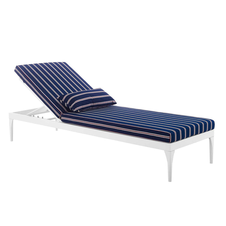 Perspective Cushion Outdoor Patio Chaise Lounge Chair
