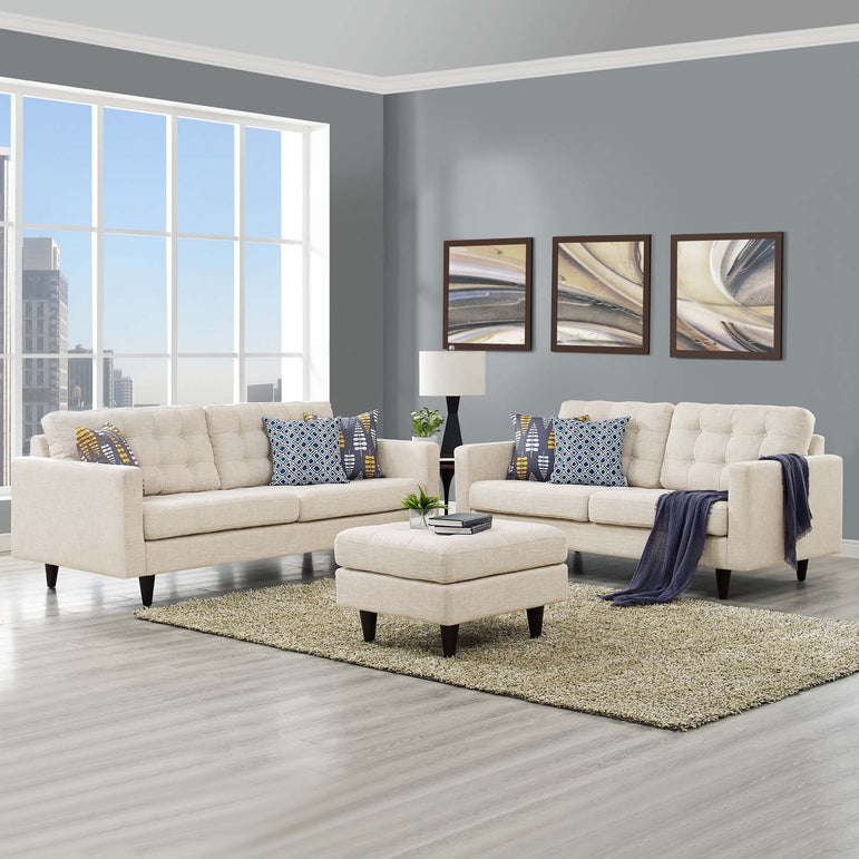 Empress Sofa and Loveseat Set of 2