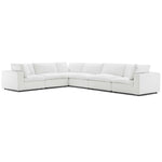 Commix Down Filled Overstuffed 6 Piece Sectional Sofa Set