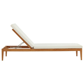 Northlake Outdoor Patio Premium Grade A Teak Wood Chaise Lounge