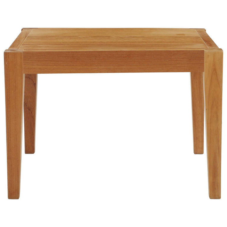 Northlake Outdoor Patio Premium Grade A Teak Wood Side Table