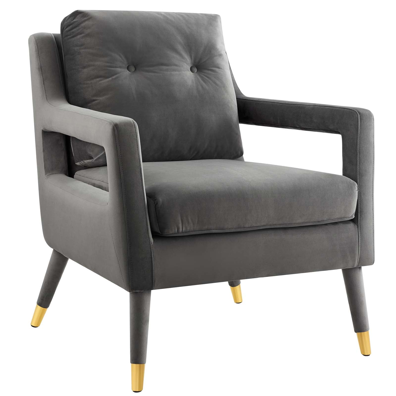 Premise Accent Lounge Performance Velvet Armchair