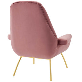 Summit Accent Performance Velvet Armchair