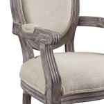Emanate Dining Armchair Upholstered Fabric Set of 2