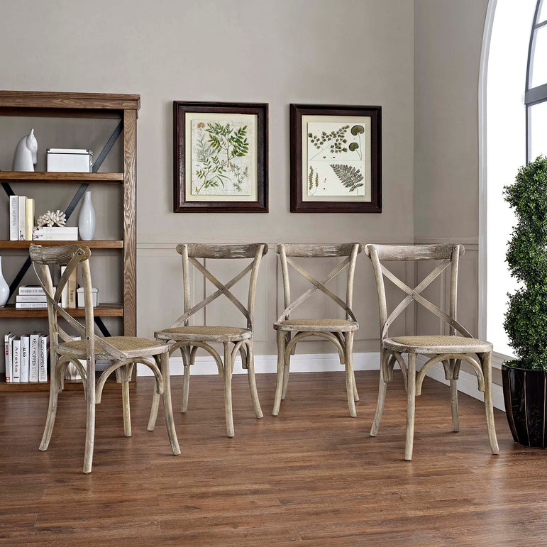 Gear Dining Side Chair Set of 4