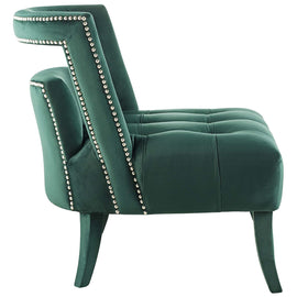 Honor Accent Lounge Performance Velvet Armchair