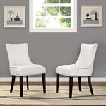 Marquis Dining Chair Faux Leather Set of 2