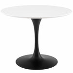 "Lippa 40"" Round Wood Dining Table"