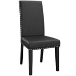 Parcel Dining Side Chair Vinyl Set of 4