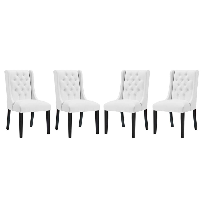 Baronet Dining Chair Vinyl Set of 4