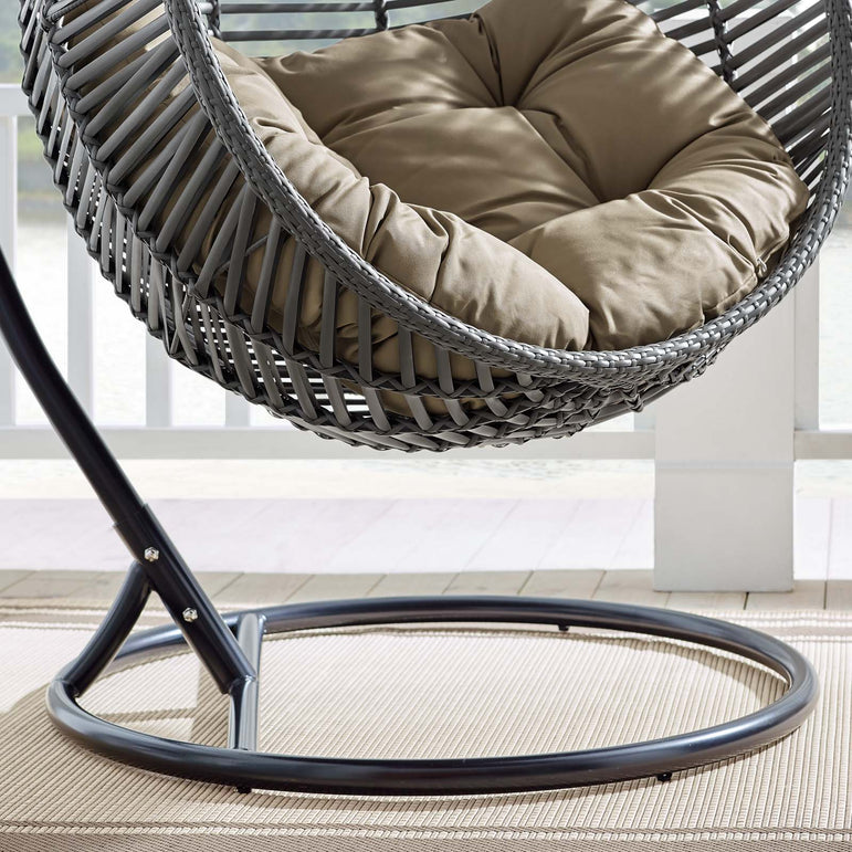 Garner Teardrop Outdoor Patio Swing Chair