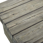 Manteo Rustic Coastal Outdoor Patio 5 Piece Set