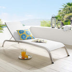 Savannah Mesh Chaise Outdoor Patio Aluminum Lounge Chair
