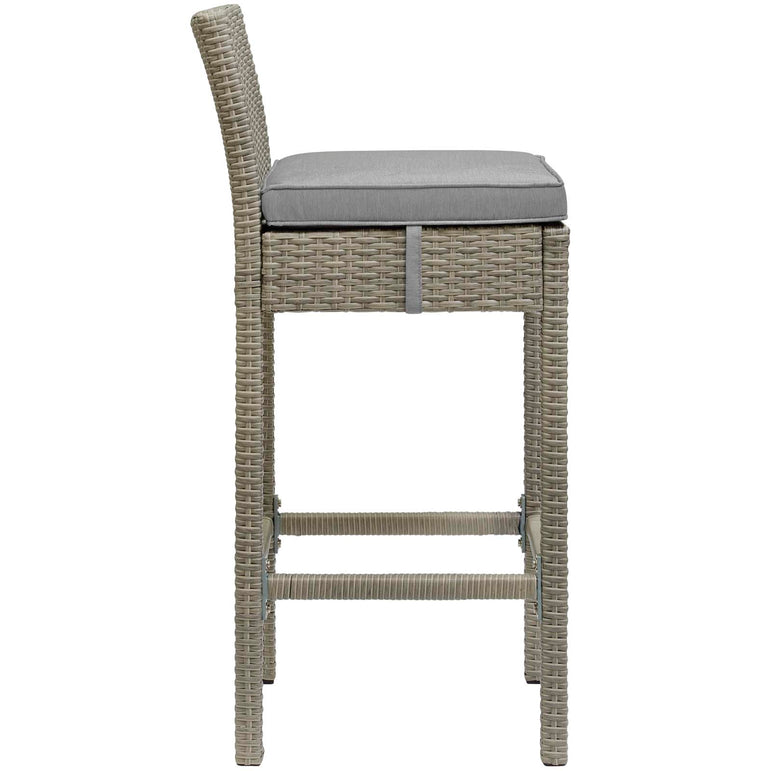 Conduit 5 Piece Outdoor Patio Wicker Rattan Set
