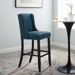 Baron Upholstered Fabric Bar Stool