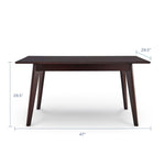"Oracle 47"" Rectangle Dining Table"