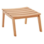 Breton 4 Piece Outdoor Patio Ash Wood Set