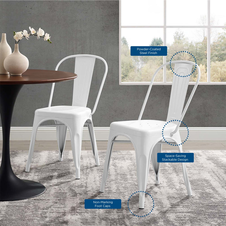 Promenade Bistro Dining Side Chair Set of 2