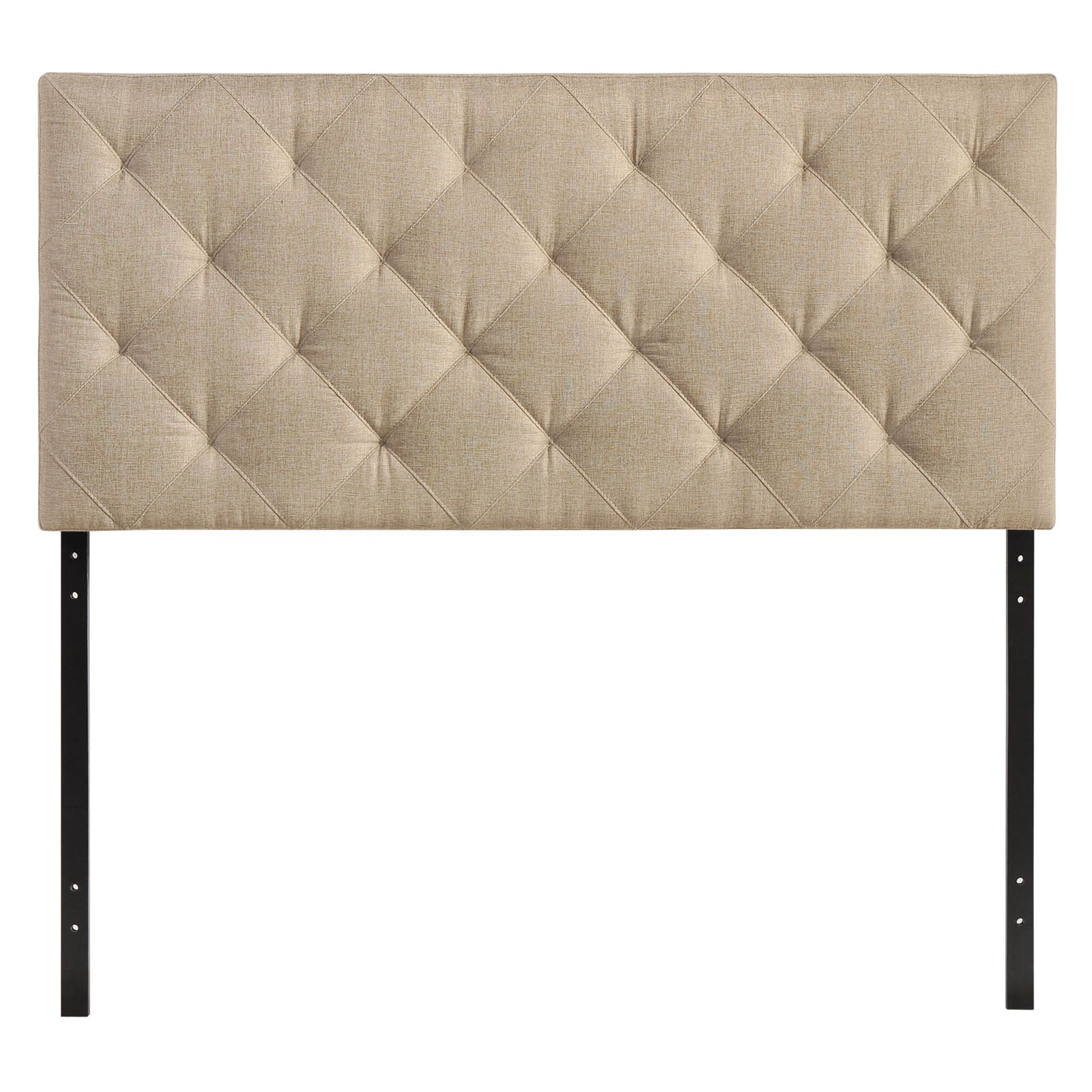 Theodore Queen Upholstered Fabric Headboard