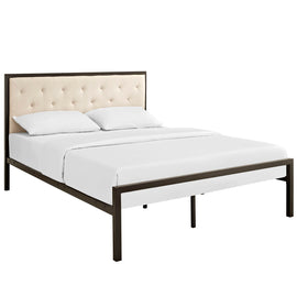 Mia Queen Fabric Bed