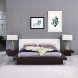 Freja 3 Piece Queen Vinyl Bedroom Set