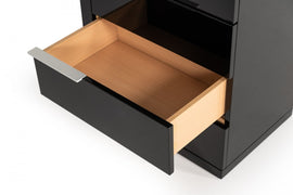 Modrest Alaska - Modern Black High Gloss Chest