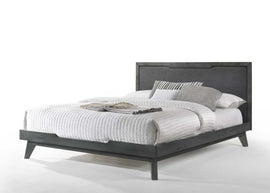 Nova Domus Soria Queen Modern Grey Wash Bed