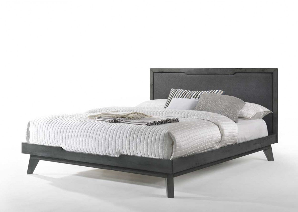 Nova Domus Soria King Modern Grey Wash Bed