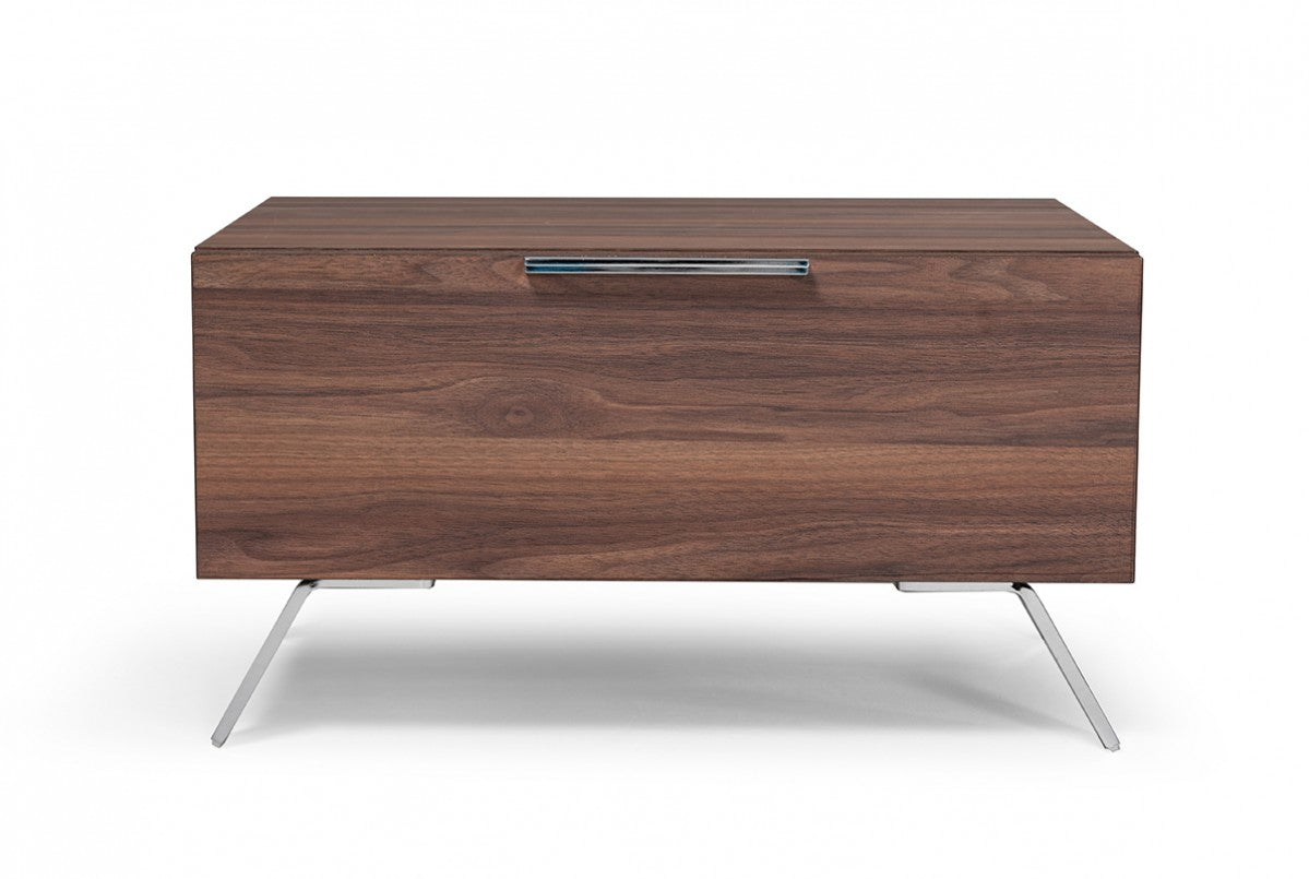 Nova Domus Brooklyn Italian Modern Walnut Nightstand