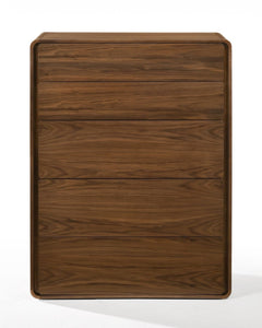 Modrest Dustin - Modern Walnut Chest
