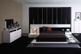 Modrest Impera King Contemporary Lacquer Platform Bed