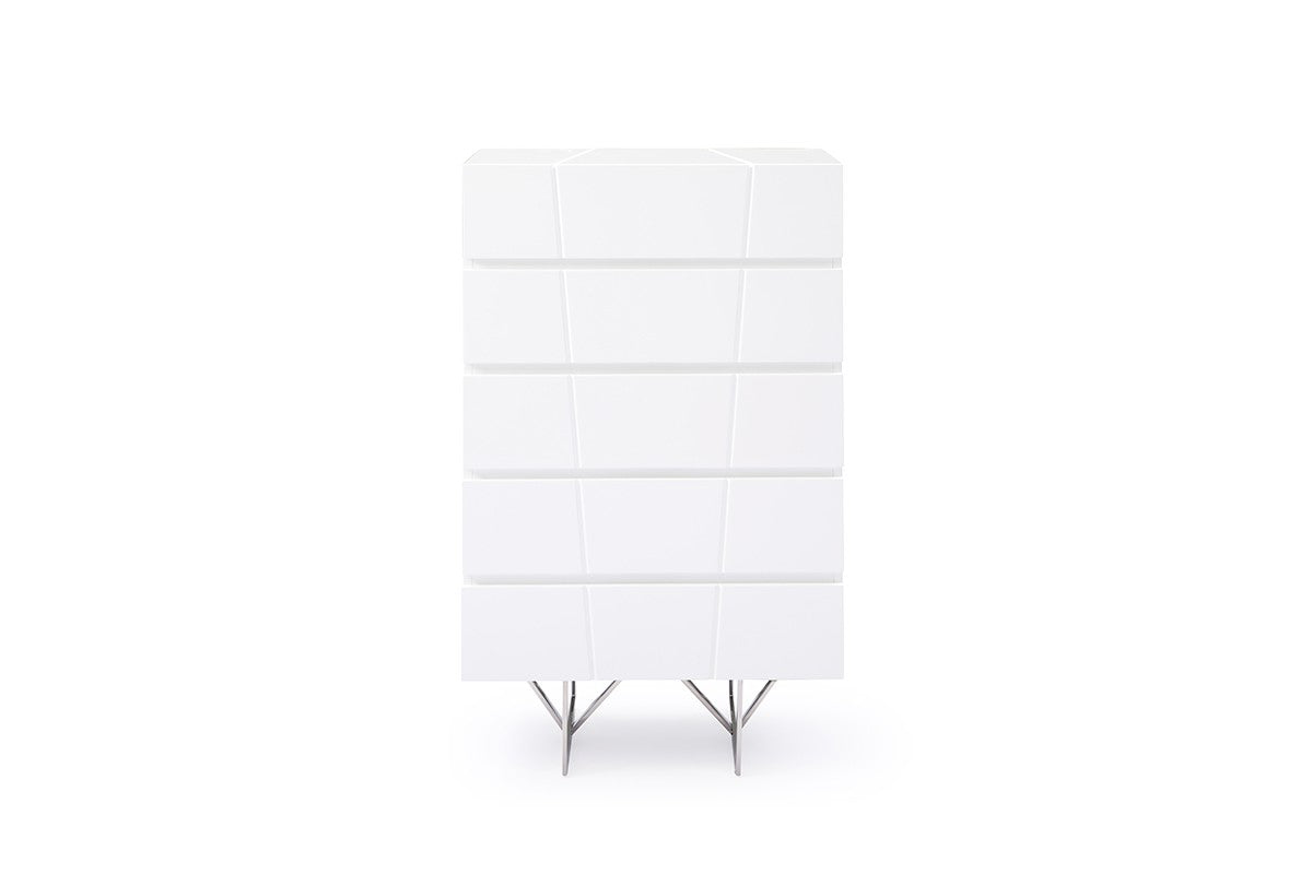 Modrest Chrysler Modern White Chest