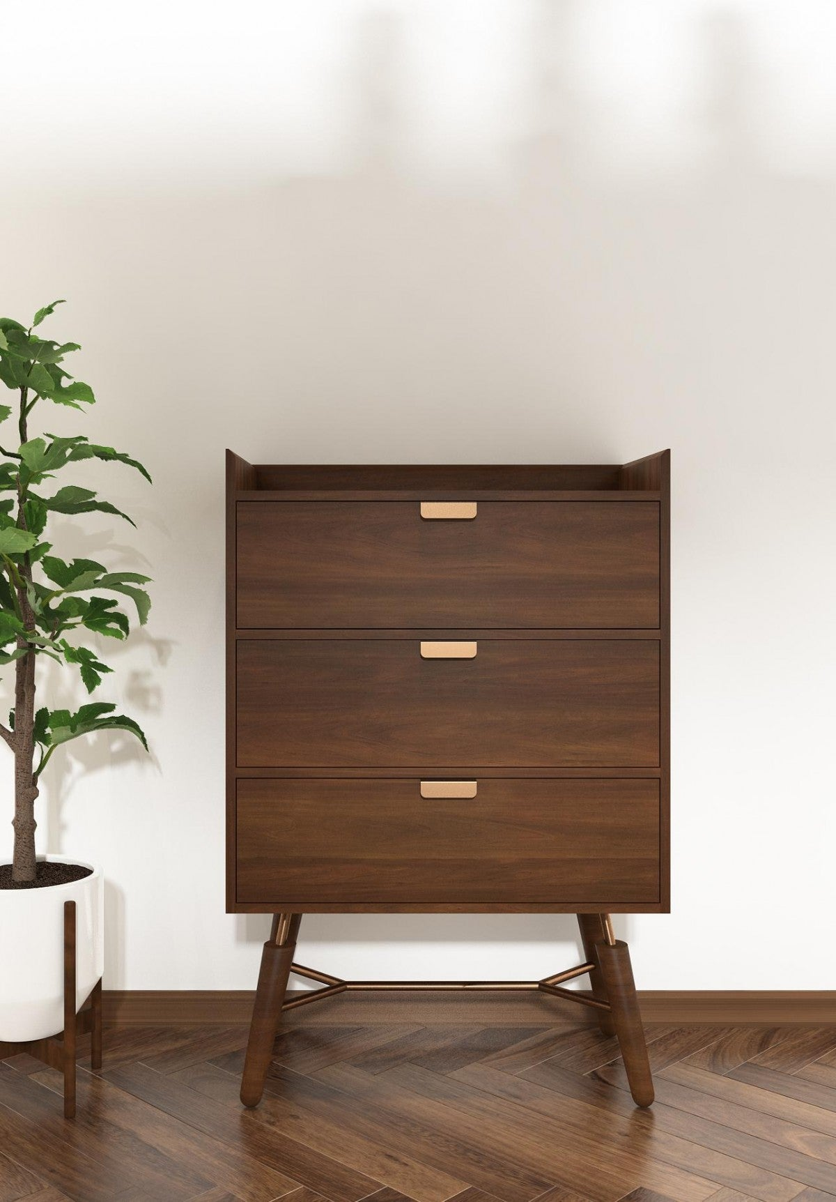 Modrest Sutton - Mid-Century Elisa Acacia Chest