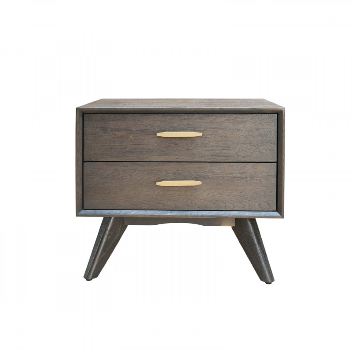 Modrest Novak Modern Dark Oak Nightstand