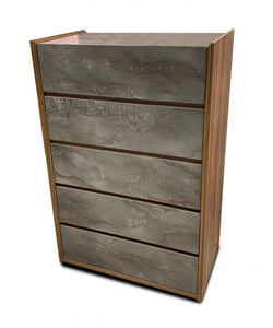 Nova Domus Rado Modern Walnut & Stucco Chest