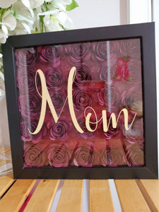 Mom Shadow Box