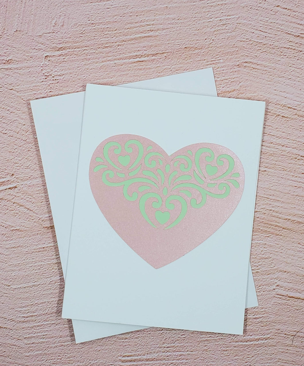 Quilted Heart Greeting Card