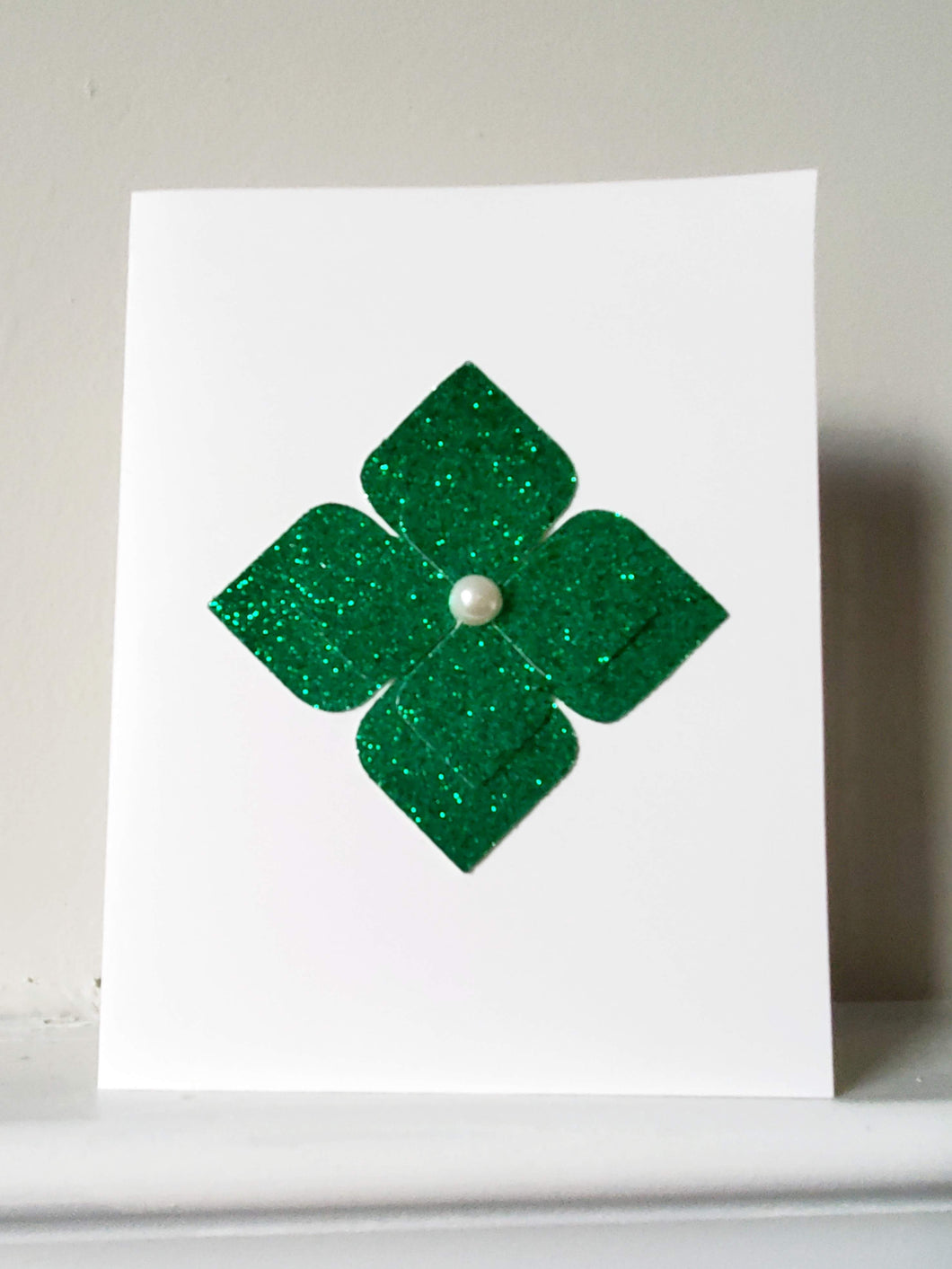 Shimmering Pearl Greeting Card