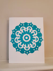 Mandala Greeting Card