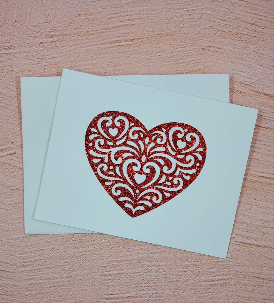 Red Hot Greeting Card
