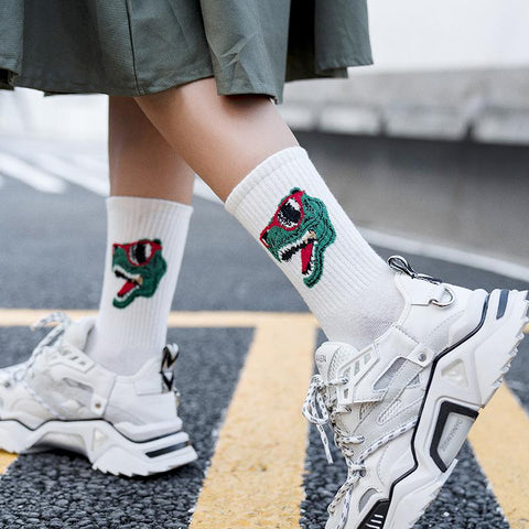 Dino DNA Socks