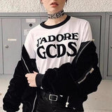 """J'Adore"" Cropped Top"
